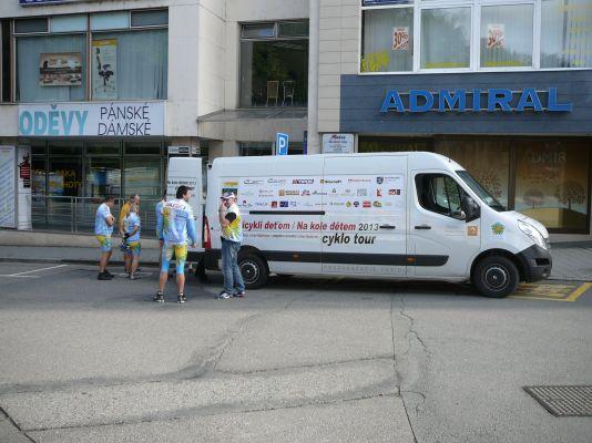 Cyklojazda 2013 - 1. etapa 2013 (Zlín - Kunovice)