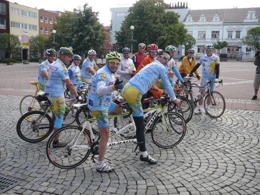 Galéria -> Cyklojazda 2013 - 1. etapa 2013 (Zlín - Kunovice)