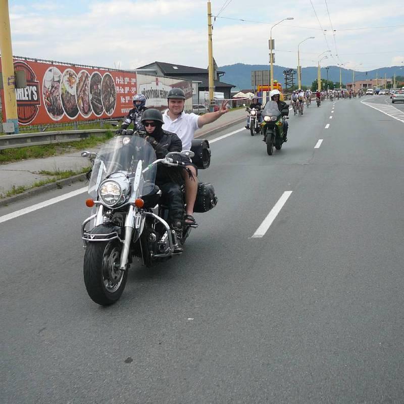 Galéria -> Cyklojazda 2014 -  1. etapa (Nová Sedlica - Prešov)